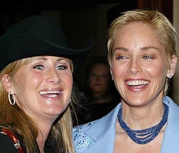 Sharon Stone ve kardeşi
